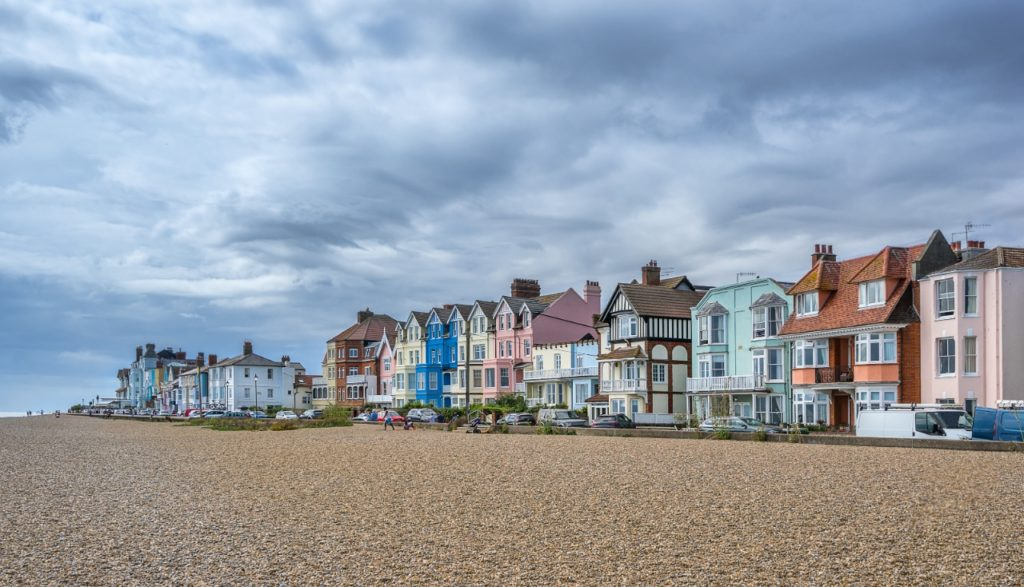 Aldeburgh best town in Suffolk