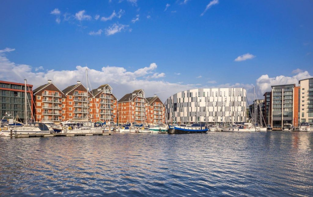 popular places to live in Ipswich